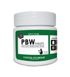 PBW Cleaner 10g Tablets - 12 count